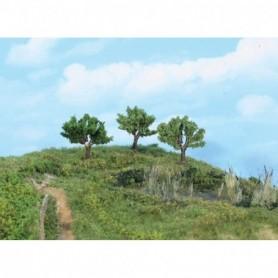 Heki 1911 Pilträd, 5,5 cm höga, 3 st