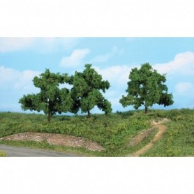 Heki 1934 Fruktträd, 13 cm höga, 3 st