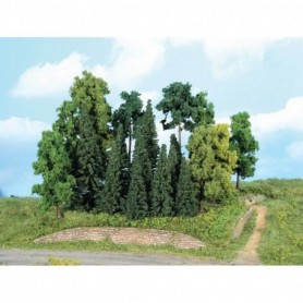 Heki 1957 Mixad skog, 7-18 cm höga, 20 st