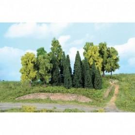Heki 1958 Mixad skog, 5-12 cm höga, 22 st