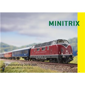 Trix 19843 Minitrix Katalog 2019/2020 Tyska