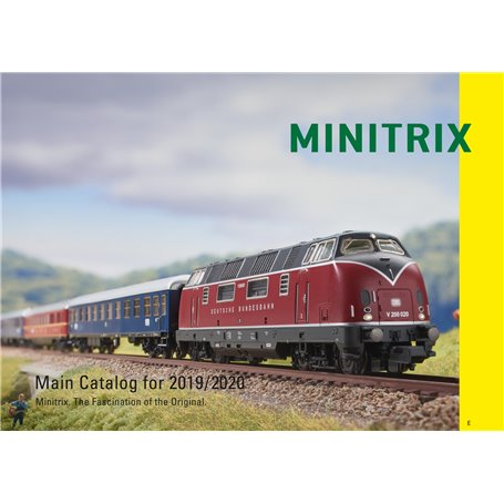 Trix 19844 Minitrix Katalog 2019/2020 Engelska