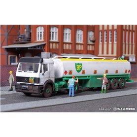 """Kibri 14670 Tanktrailer MB """"BP"""""""
