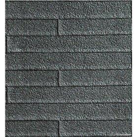 Kibri 34116 Roofing tile card, ca. L 20 x W 12 cm
