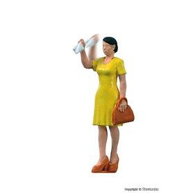 Viessmann 1555 Woman waving her arm, rörlig figur