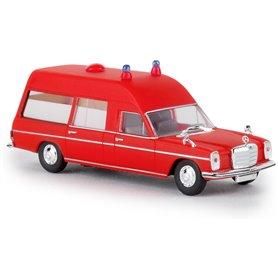 """Brekina 13826 Mercedes Benz 8 KTW daylight glow red """"Von Starmada"""""""