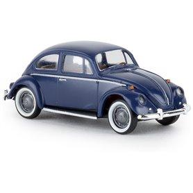 "Brekina 25043 VW Beetle ""de luxe"", dark blue, TD"
