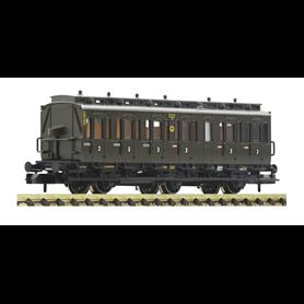 Fleischmann 807006 Personvagn 3:e klass C3 pr 11 typ DRG med bromskur