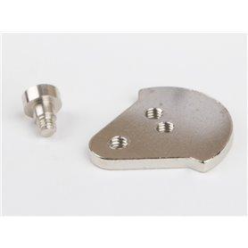Wilesco 1760 Crank disc with bolt screw D48