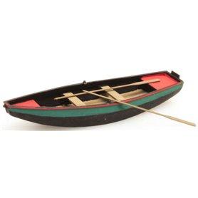 Artitec 38709GN Roddbåt, stål, grön, 1 st, färdigmodell