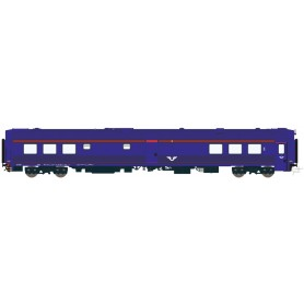 HNoll HN.1472AC Restaurangvagn SJ RB11 5451 BlueX