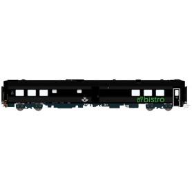 HNoll HN.1444DC Restaurangvagn SJ RB11 5446 Svart