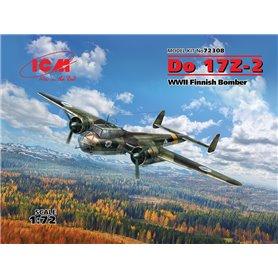 """ICM 72308 Flygplan Do 17Z-2 """"Finnish Bomber"""""""