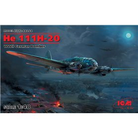 ICM 48264 Flygplan He 111H-20 WWII German Bomber