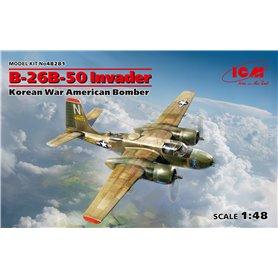 ICM 48281 Flygplan B-26B-50 Invader Korean War American Bomber