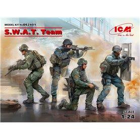 ICM DS2401 Figurer S.W.A.T. Team (4 figures)