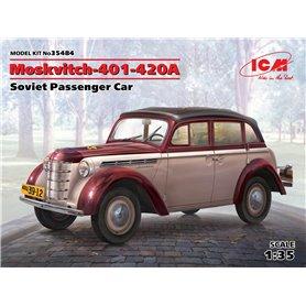 ICM 35484 Moskvitch-401-420A, Soviet Passenger Car