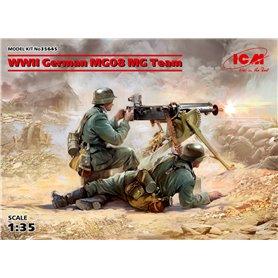 ICM 35645 WWII German MG08 MG Team (2 figures)