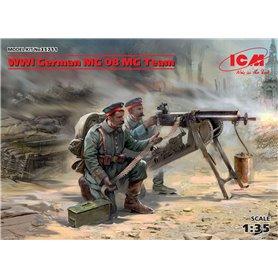 ICM 35711 WWI German MG08 MG Team (2 figures)