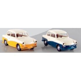 Brekina 27509 Trabant P 50, 2-färgad med linje