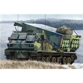 Trumpeter 01048 M270/A1 Multiple Launch Rocket System - Norway