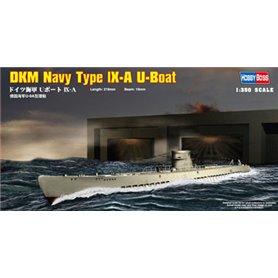 Hobby Boss 83506 Ubåt DKM Navy Type lX-A U-Boat