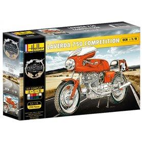 "Heller 52911 Motorcykel Laverda 750 Competition ""Gift Set"""