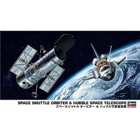 Hasegawa 10676 Space Shuttle Orbiter & Hubble Space Telescope