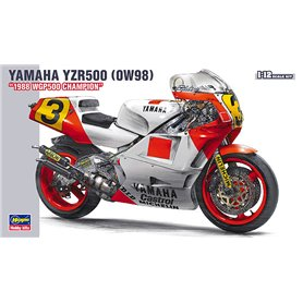 "Hasegawa 21503 Motorcykel YAMAHA YZR500 (0W98) ""1988 WGP500 CHAMPION"""