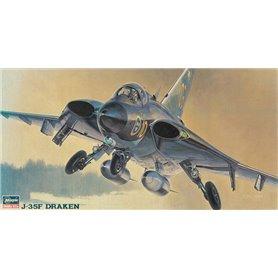 Hasegawa 51401 Flygplan J-35F Draken
