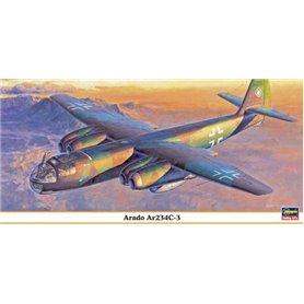 Hasegawa 09845 Flygplan Arado Ar234C-3