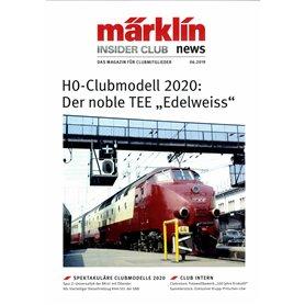Märklin INS62019T Märklin Insider 06/2019, magasin från Märklin, 23 sidor tyska