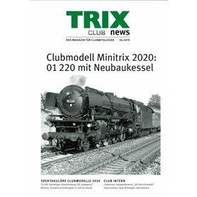 Trix CLUB62019T Trix Club 06/2019, magasin från Trix, 23 sidor i färg, tyska