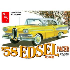 AMT 1087 Edsel Pacer with fender Skirts and Continental kit 1958