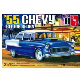 AMT 1119 Chevrolet Bel Air Sedan 2 in 1 1955