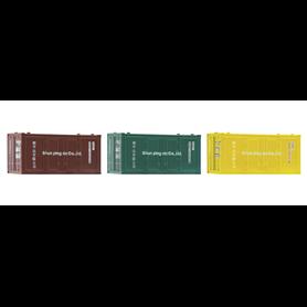 Fleischmann 910220 3 piece set: 20' containers