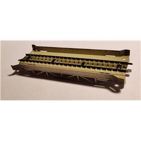 Märklin 7168 Metallbro, 1 st, 18 cm lång, rak
