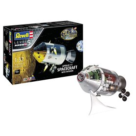 "Revell 03703 Apollo 11 Spacecraft with Interior ""Gift Set"""