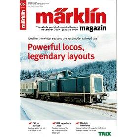 Märklin 331057 Märklin Magazin 6/2019 Engelska
