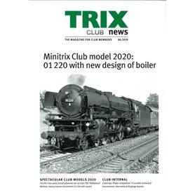 Trix CLUB62019 Trix Club 06/2019, magasin från Trix, 23 sidor i färg, engelska