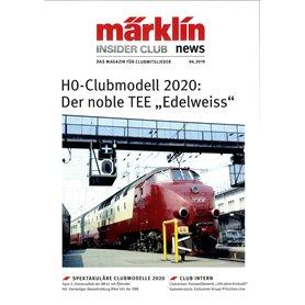 Märklin INS62019 Märklin Insider 06/2019, magasin från Märklin, 23 sidor engelska