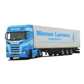 AMW 53666 Bil & Kyltrailer Scania A|Aer 'Werner Larsson'