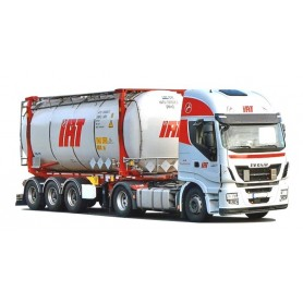 AMW 53667 Bil & Silotrailer Iveco HiWay|Aer 'IAT'