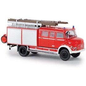Brekina 47138 Brandbil Mercedes Benz LAF 1113 LF 16, ljusröd/vit, TD