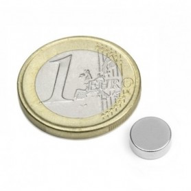 Magnet S-08-03-N Disc magnet, diameter8mm, height3mm