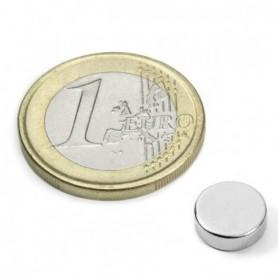 Magnet S-09-03-N52N Diskmagnet, diameter9mm, höjd3mm