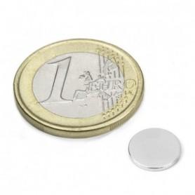 Magnet S-10-1.5-N Diskmagnet, diameter10mm, höjd1,5mm