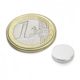 Magnet S-10-02-N Diskmagnet, diameter10mm, höjd2mm
