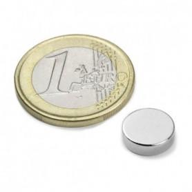 Magnet S-10-2.5-N Diskmagnet, diameter10mm, höjd2,5mm