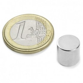 Magnet S-10-10-N Diskmagnet, diameter10mm, höjd10mm